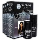 Color One Dolgunlaştırıcı Saç Fiberi Siyah 25 gr + 100 ml Sprey Hediye