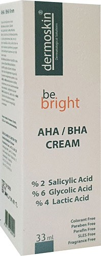 Dermoskin Be Bright AHA/BHA Cream 33 ml