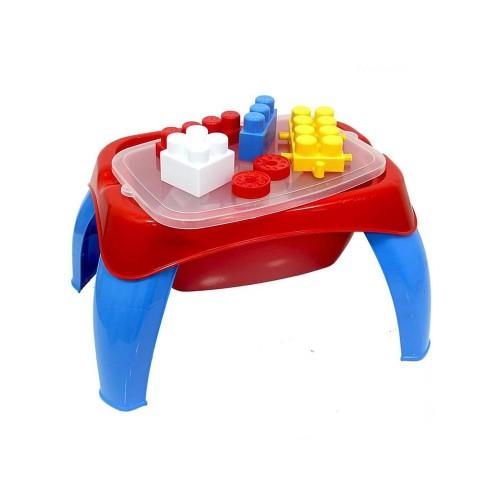 Dolu Aktivite Oyun Masası 30 Parça Mega Blok 5298