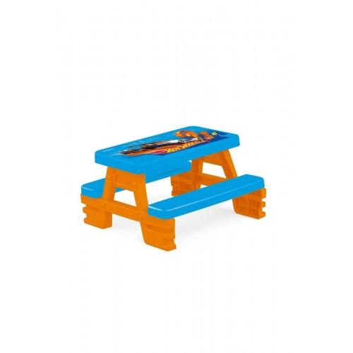 Dolu Hot Wheels Piknik Masası 2308