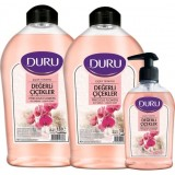 Duru Çiçek Terapisi Değerli Çiçekler Sıvı Sabun 1500 ml+1500 ml+300 ml