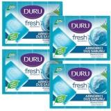 Duru Fresh Sensations Okyanus Esintisi Duş Sabunu 600 gr 4'lü Paket