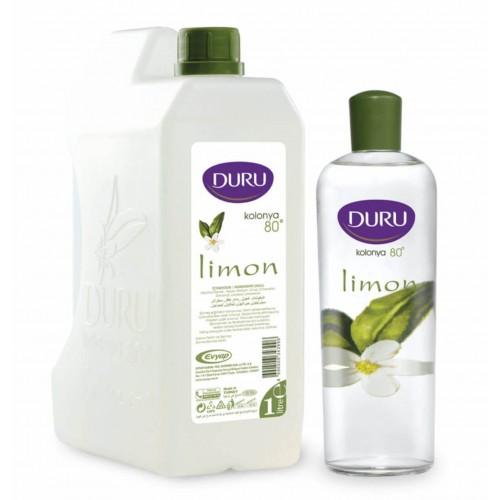Duru Limon Kolonya Bidon 1lt + 400 ml Pet Şişe