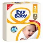 Evy Baby Bebek Bezi Jumbo Mini 2 Beden 78 li