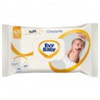 Evy Baby Islak Havlu Soft Kapaklı 56 lı