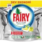 Fairy Platinum Bulaşık Makinesi Deterjanı Limon Kokulu 115 Yıkama