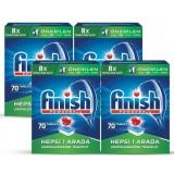Finish Bulaşık Makinası Deterjanı Hepsi Bir Arada Tablet 70 li x4 Adet