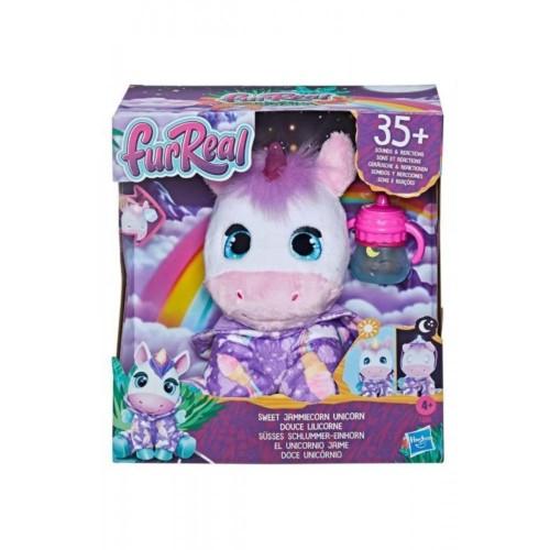 FurReal Sweet Jammiecorn Unicorn  Işıklı Peluş Oyuncak f2066