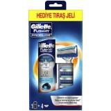 Gillette Fusion Proglide 4 lü Bıçak + Fusion Proglide Jel 200 ml
