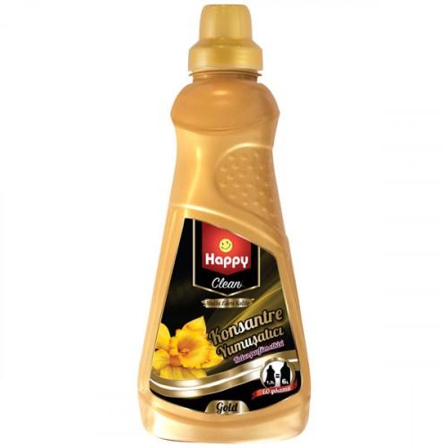 Happy Clean Konsantre Yumuşatıcı Gold 1500 ml
