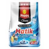 Happy Clean Toz Çamaşır Deterjanı Renkli ve Beyazlar İçin 4 kg