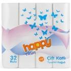 Happy Clean Çift Katlı Tuvalet Kağıdı 32 li
