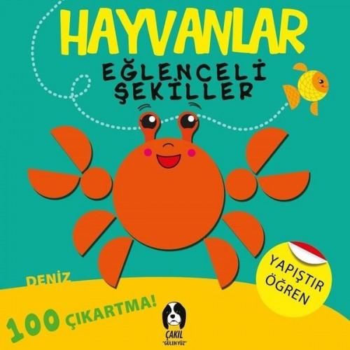 Hayvanlar - Eğlenceli Şekiller Deniz - Kolektif