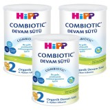 Hipp 2 Organik Devam Sütü Combiotic 900 gr x 3 Adet