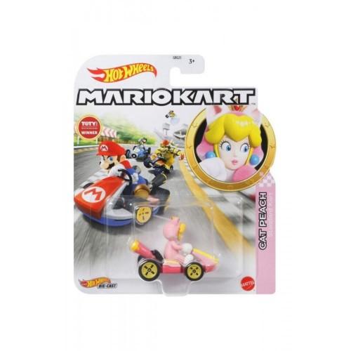 Hot Wheels Mario Kart Karakter Araçlar Cat Peach GBG25-GRN13