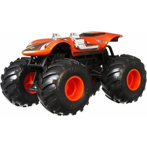 Hot Wheels Monster Trucks 1:24 Arabalar Twin Mill GJG70