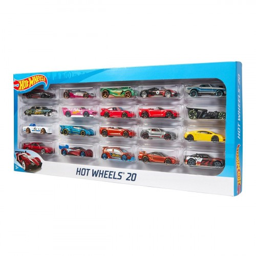 Hot Wheels Yirmili Araba Seti H7045