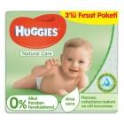 Huggies Islak Havlu Doğal Bakım 56 lı (3 lü Fırsat Paketi)