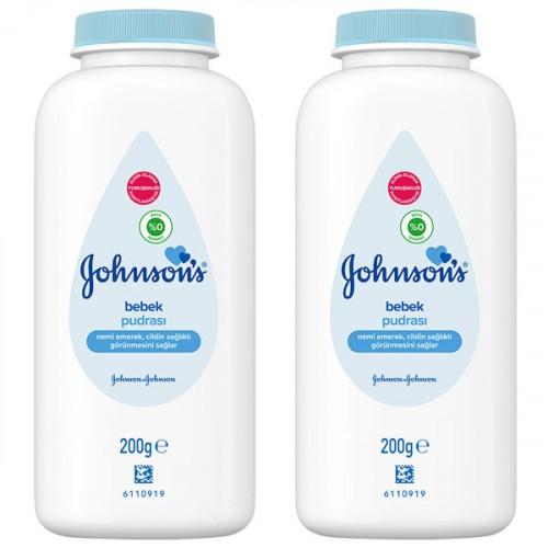 Johnsons Pudra 200 gr x 2 Adet