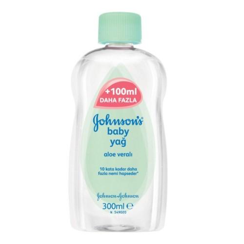 Johnsons Baby Yağ Aloe Vera 300 ml