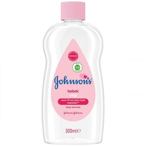 Johnsons Baby Yağ Normal 300 ml