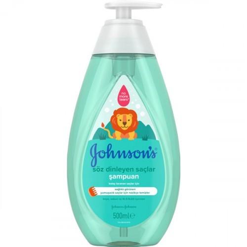 Johnsons Baby Söz Dinleyen Saçlar Kremli Şampuan 500 ml