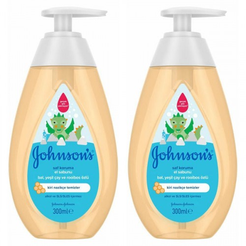 Johnsons Saf Koruma El Sabunu 300 ml x 2 Adet