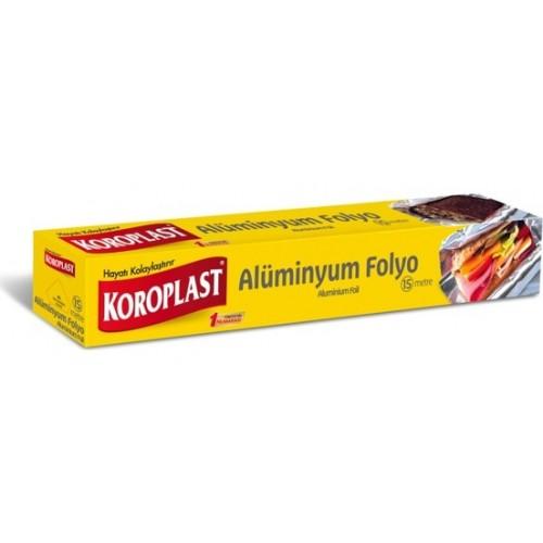 Koroplast Alüminyum Folyo 15 mt