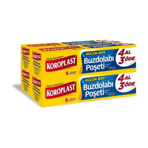Koroplast Buzdolabı Poşeti 4 Al 3 Öde Küçük Boy 160 lı