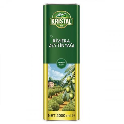Kristal Riviera Zeytinyağı Teneke 2 lt