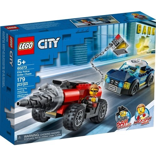 Lego City Elite Police Driller Chase 60273