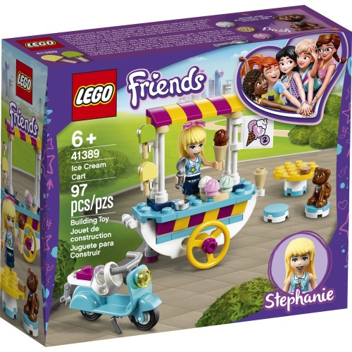 LEGO Friends Dondurma Arabası 41389