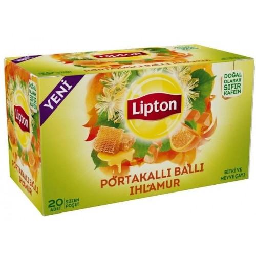 Lipton Ballı Portakallı Ihlamur 20 li