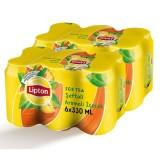 Lipton Ice Tea Şeftali Kutu 330 ml x 12 Adet