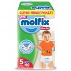 Molfix Pants Külot Bezi Süper Fırsat Paketi Junior 5 Beden 60 lı