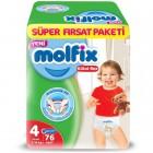 Molfix Pants Külot Bezi Süper Fırsat Paketi Maxi 4 Beden 76 lı