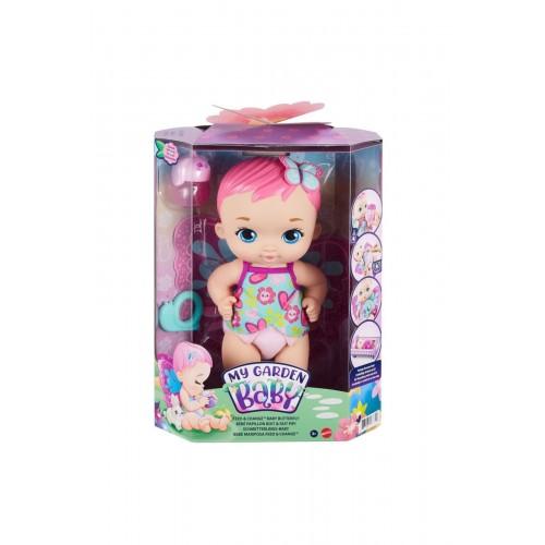 My Garden Baby Besleme ve Değişim Kelebek Bebeği Pembe GYP10