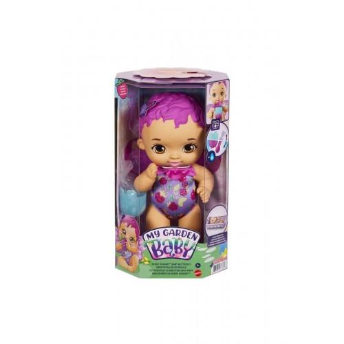 My Garden Baby Kelebek Bebeğimin Yemek Zamanı Mor Saçlı Bebek GYP00