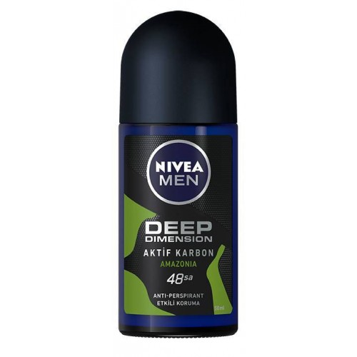 Nivea Men Deep Dimension Amazonia Deodorant Roll-On 50 ml