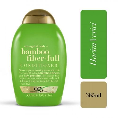 Ogx Bamboo Fibers Saç Kremi 385 ml