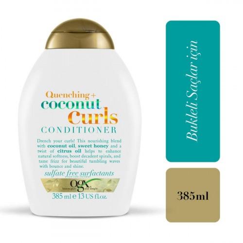 Ogx Coconut Curls Bukleli Saçlar İçin Saç Bakım Kremi 385 ml