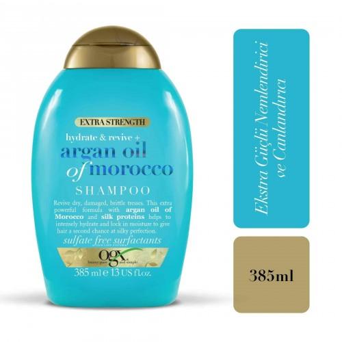 Ogx Extra Güçlü Morocco Argan Oil Morrocco Şampuanı 385 ml