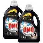 Omo Sıvı Çamaşır Deterjanı Siyah 2250 ml x 2 Adet