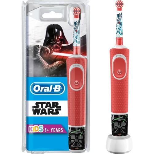 Oral-B Çocuklar İçin Şarj Edilebilir Diş Fırçası D100 Star Wars Özel Seri