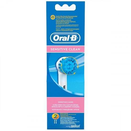 Oral-B EBS17 Sensitive Clean Diş Fırçası Yedeği 2 li Paket