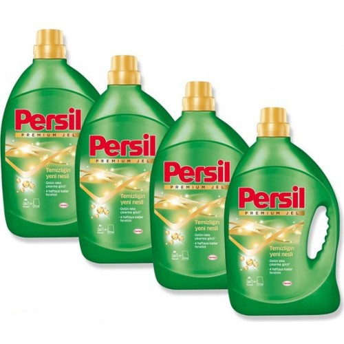 Persil Premium Jel Sıvı Çamaşır Deterjanı 30 Yıkama x 4 Adet