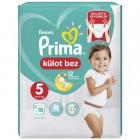 Prima Pants Külot Bebek Bezi Deneme Paketi 5 Beden 18 Adet