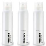 Privacy Woman Kadın Deodorant 150 ml x 3 Adet