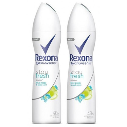 Rexona Deodorant Stay Fresh 150 ml x 2 Adet