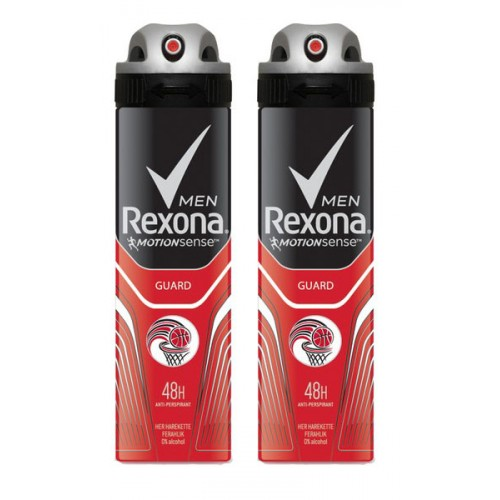 Rexona Men Guard Deodorant 150 ml x 2 Adet